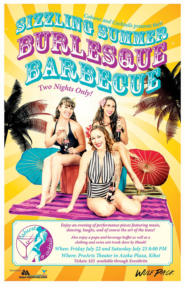 Sizzling Summer Burlesque Barbecue