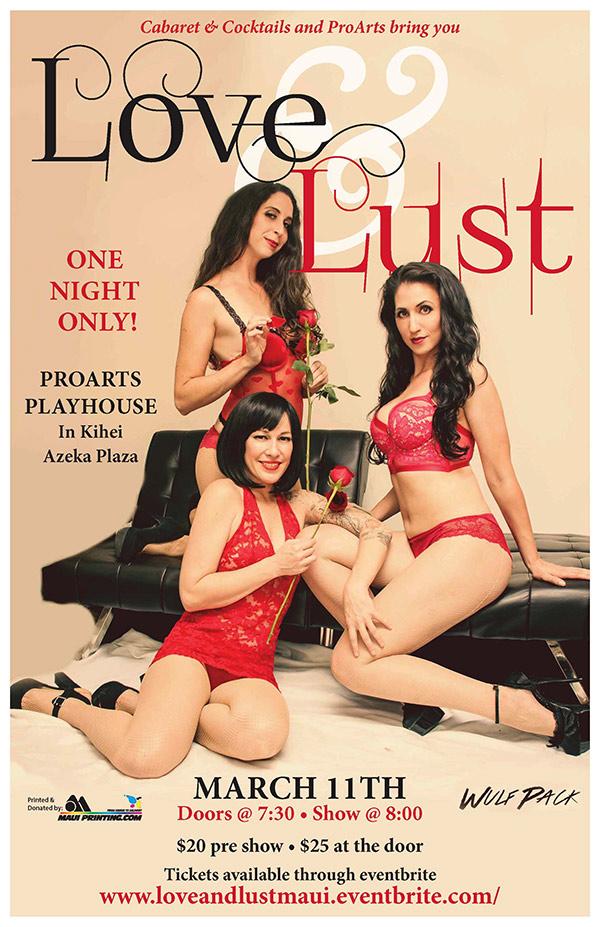 Love & Lust: A Burlesque Tease