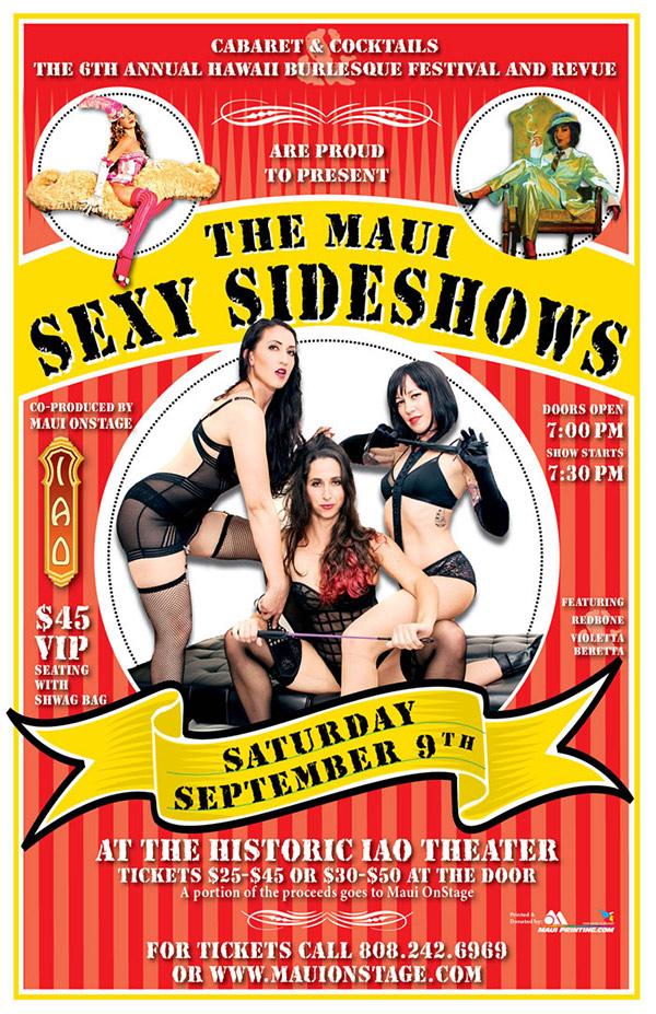 The Maui Sexy Sideshows