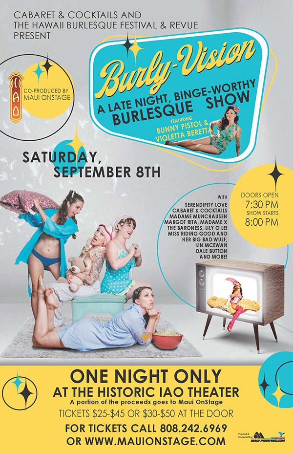 BurlyVision: A Late-Night, Binge-Worthy BurlesqueShow