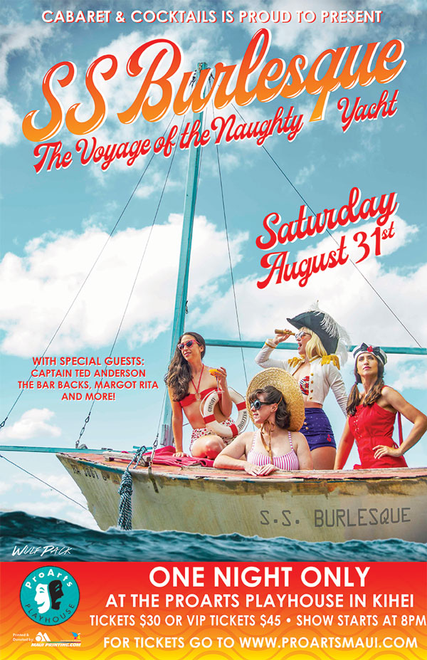 SS Burlesque - The Voyage Of The Naughty Yacht