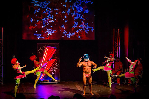 Cyberlesque: A Robotic Cabaret Show