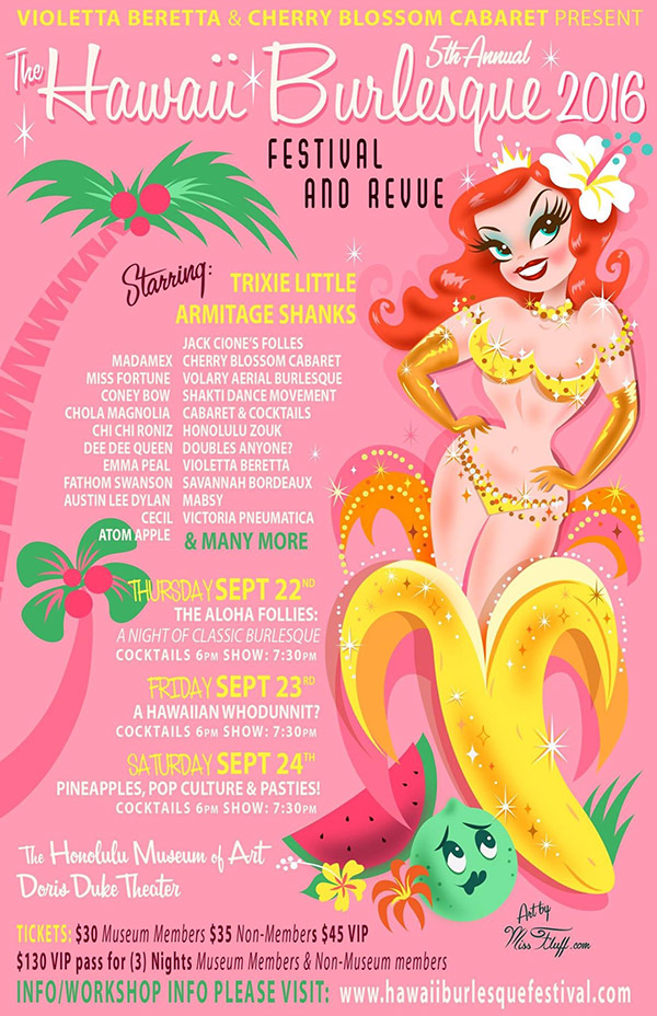 5th Annual Hawaii Burlesque Festival And Revue