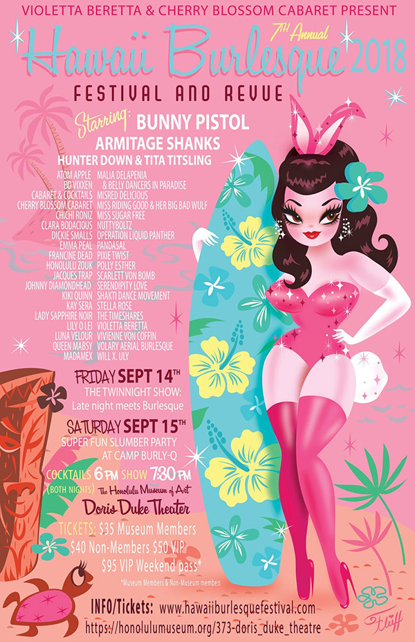 7th Annual Hawaii Burlesque Festival And Revue