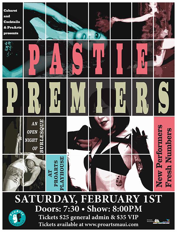 Pastie Premiers 2020: An Open Night Of Burlesque